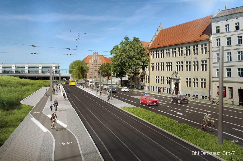 Visualisierung Berlin Ostkreuz